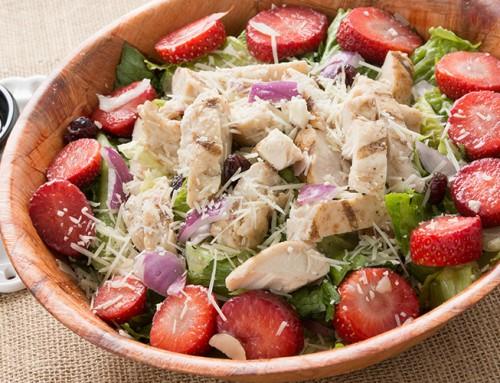 Diced Chicken Fruit Salad