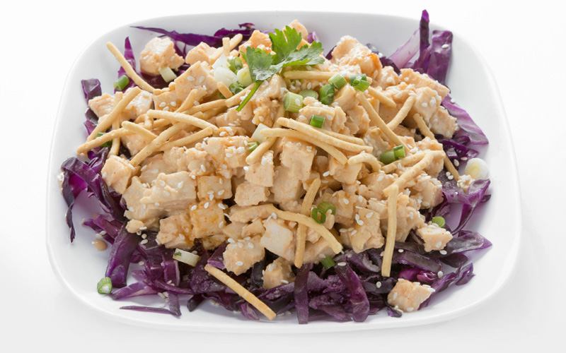 Garlic Ginger Chicken Salad