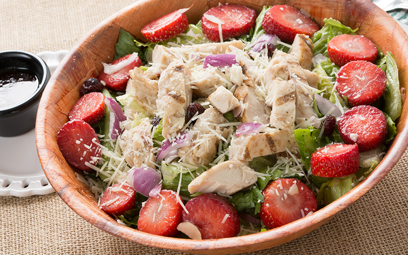 Diced Chicken Fruit Salad